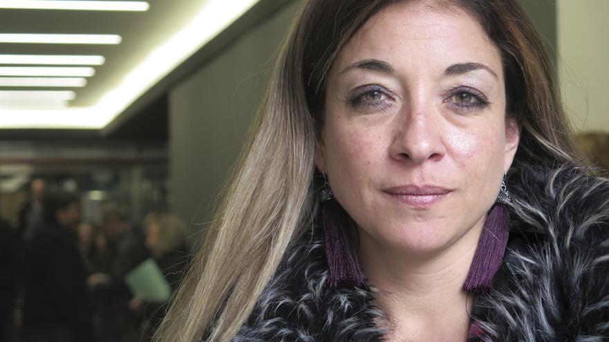 Amaya Olivas, magistrada miembro de Juezas y Jueces por la Democracia.