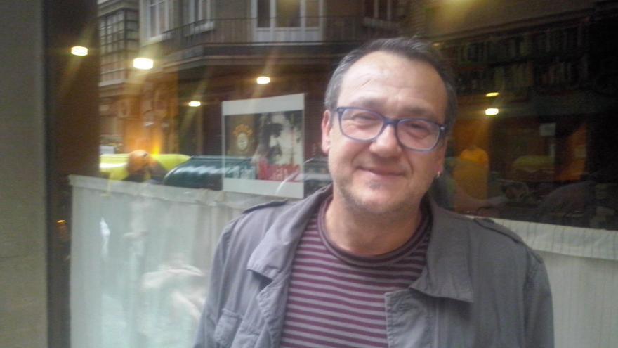 Toni Carrasco, secretario general de Podemos en el municipio de Murcia / PSS