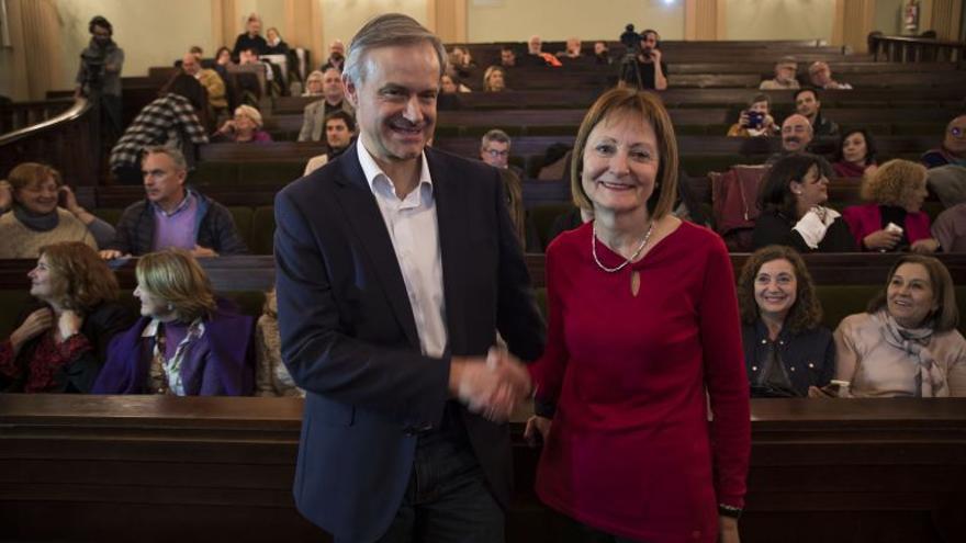Mavi Mestre y Vicent Martínez, candidatos a rectorado de la Universitat de València