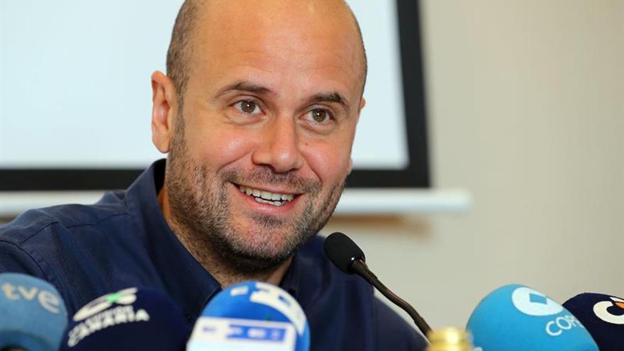 El entrenador grancanario Miguel Ángel Ramírez. (EFE/Elvira Urquijo A.)