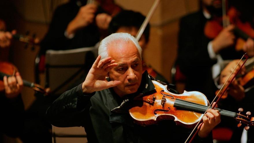 El violinista Vladimir Spivakov actuará en Bilbao como solista y director de sus 'Virtuosos de Moscú'
