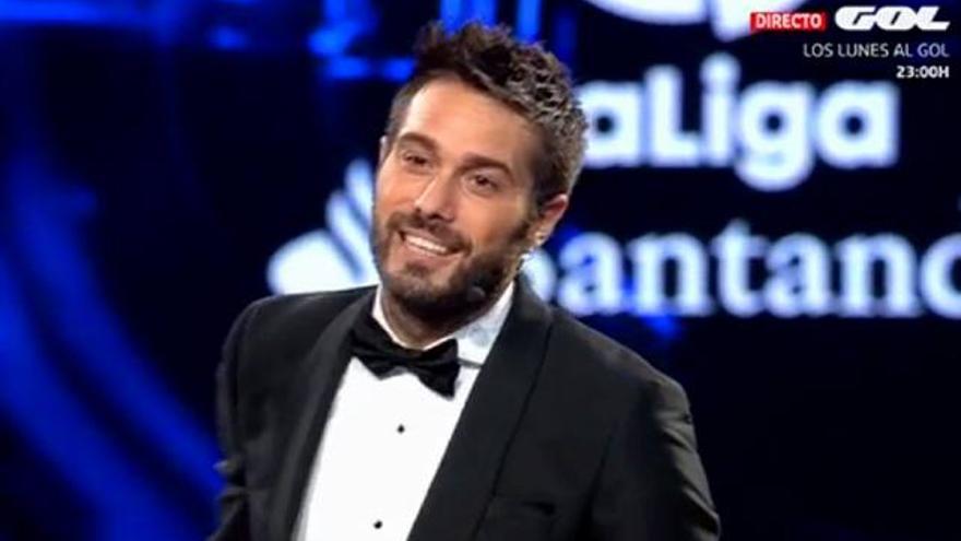 Gala de la Liga en TV con un brillante Dani Martínez y 'looks' atrevidos