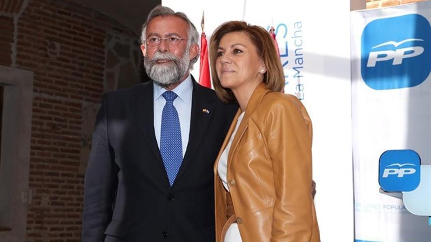 Jaime Ramos y María Dolores de Cospedal. FOTO: Europa Press