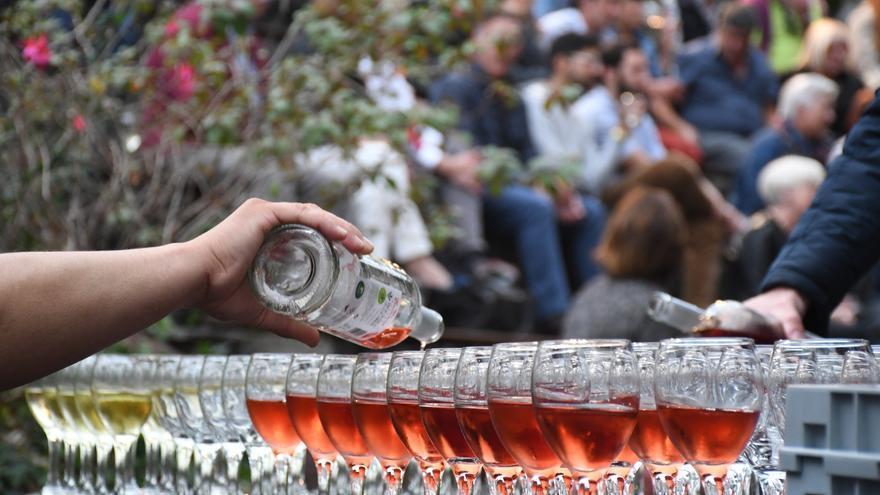 Imagen del sábado pasado, día en que se concedieron los premios en Santa Úrsula