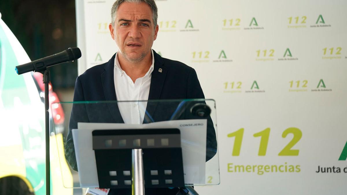 El consejero de Presidencia de la Junta, Elías Bendodo.