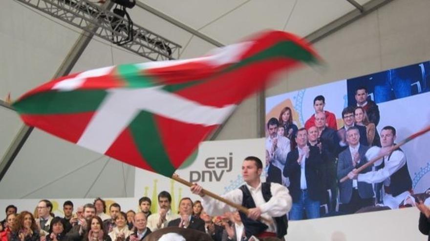 Celebración del Aberri Eguna por parte del PNV