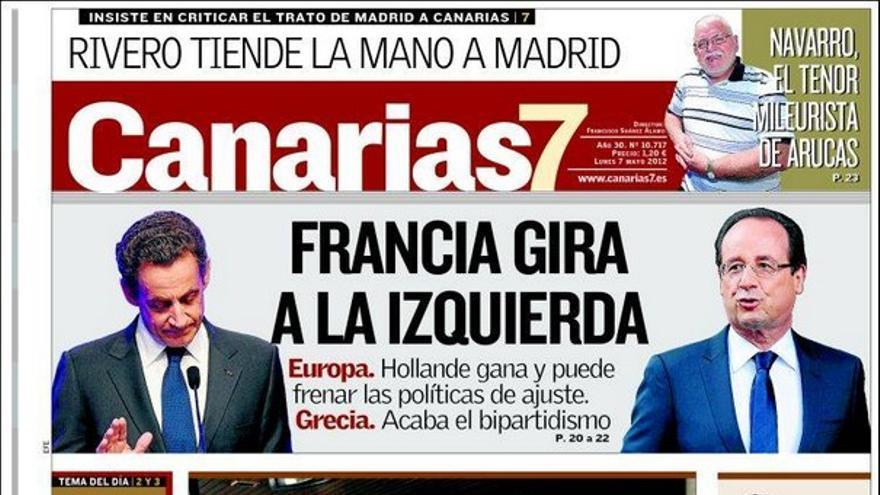 De las portadas del día (07/05/2012) #2