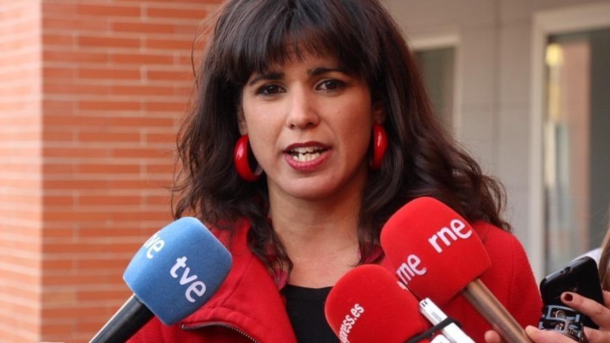 """Teresa Rodríguez (Podemos): """"El gran perdedor del debate fue Mariano Rajoy"""""""