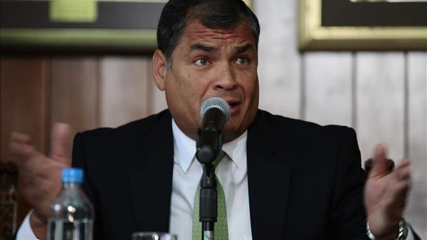 Correa afirma que la OEA debería ser un foro para encuentros entre la Celac y América del Norte