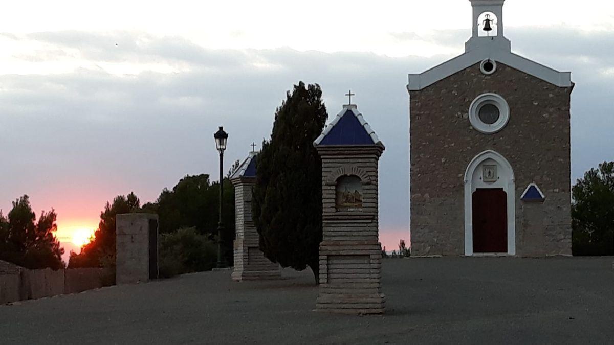 L'ermita de Nàquera.
