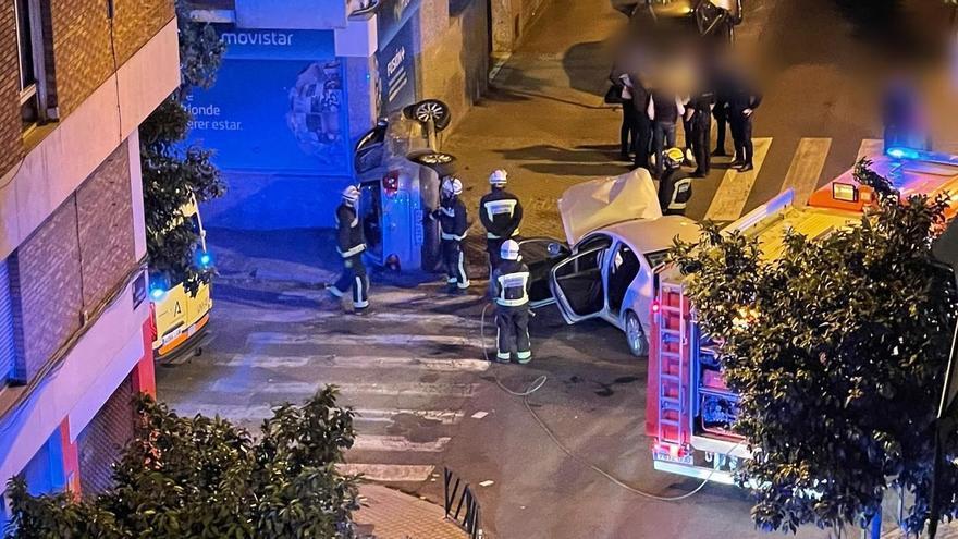 El accidente ocurrió a las 22:50
