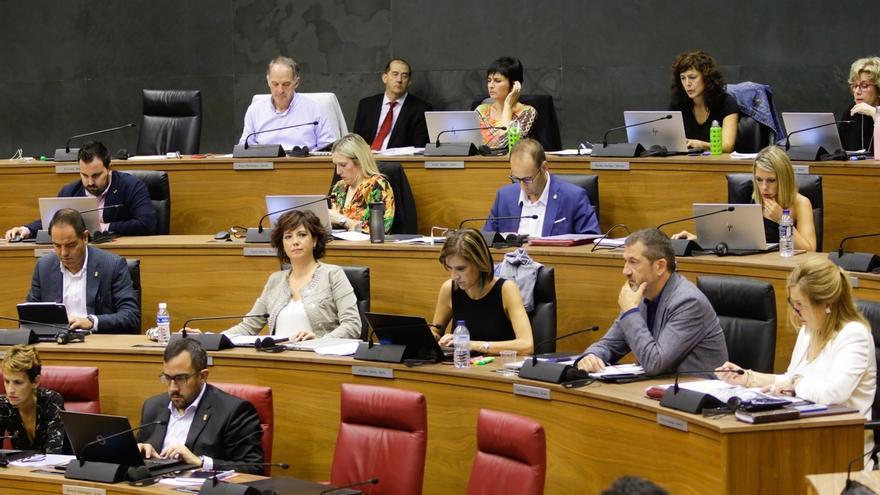 El Parlamento rechaza una ley de Navarra Suma para derogar el decreto del euskera
