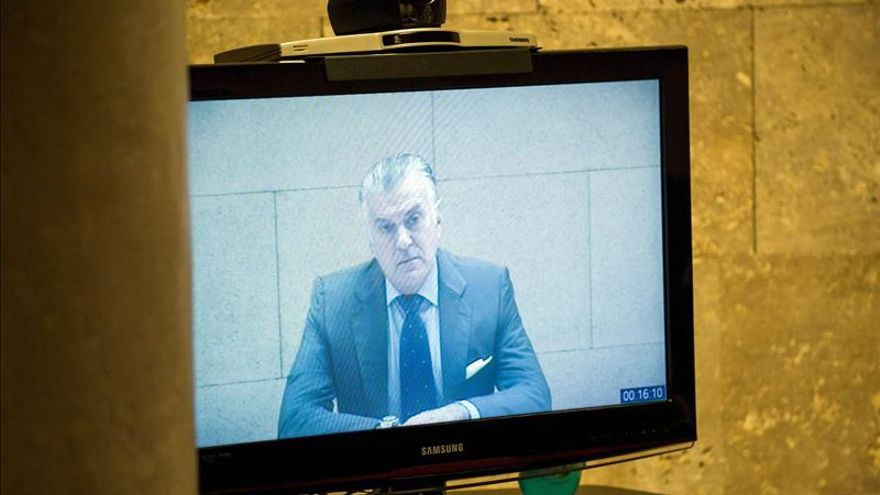 El juez deniega por segunda vez a Bárcenas su puesta en libertad por riesgo de fuga