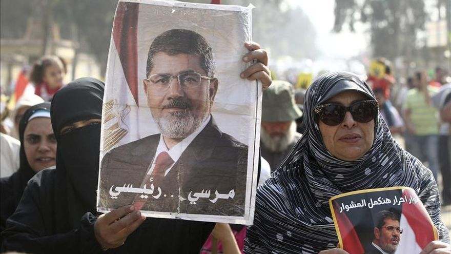 """Mursi advierte de que no habrá estabilidad en Egipto hasta el fin del """"golpe"""""""