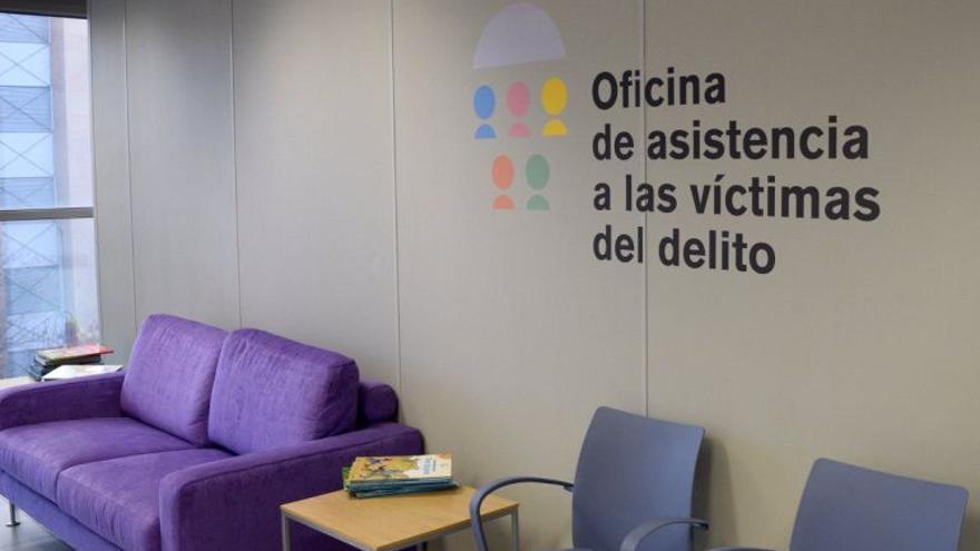 Oficina de Asistencia a las Víctimas del Delito, uno de los recursos recuperados por la Conselleria de Justicia