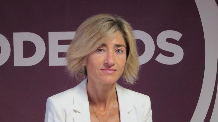"""Pili Zabala: """"Cuando más política social hacía falta, es cuando PNV y PSE-EE menos política han hecho"""""""