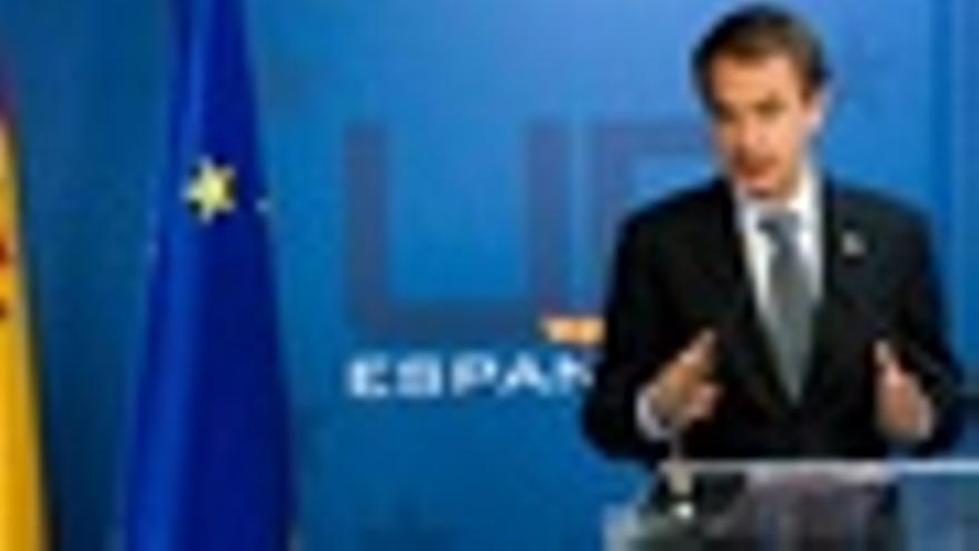 Zapatero en rueda de prensa tras el Consejo Europeo