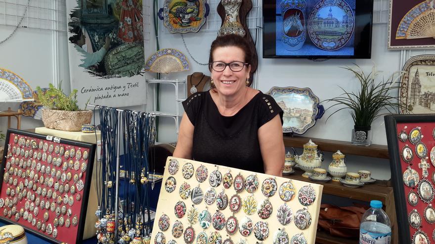 Isabel, de Segurilla (Toledo) recibirá el distintivo de maestra artesana en FARCAMA