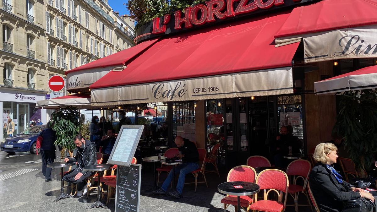 El café L'Horizon, en París.