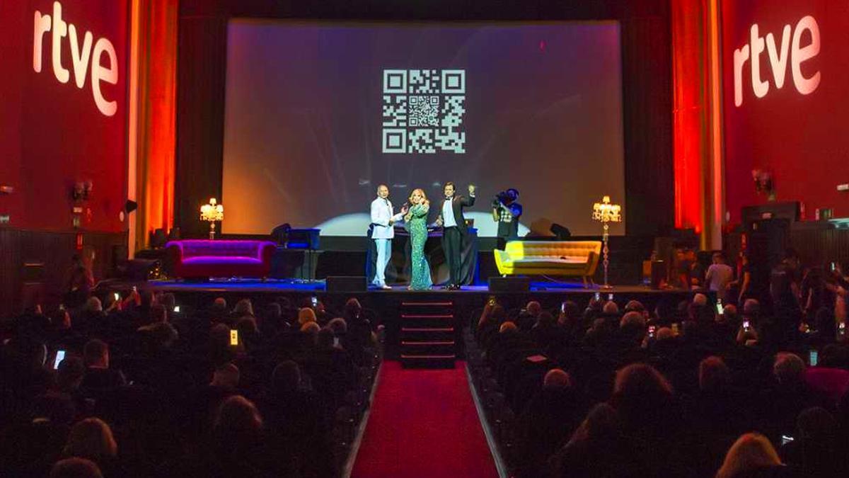 Imagen de la gala 'RTVE, la que quieres'