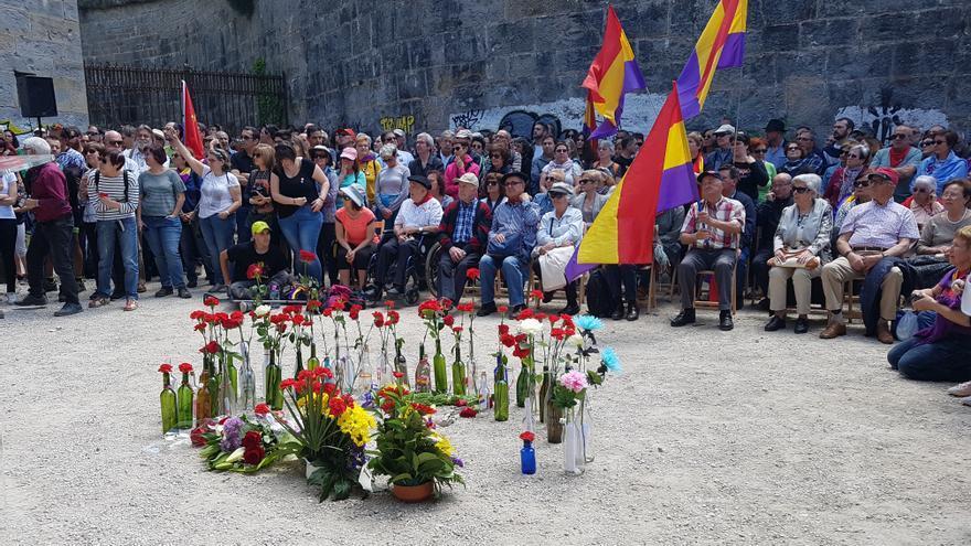 80 aniversario de la fuga del monte Ezkaba, en Navarra.