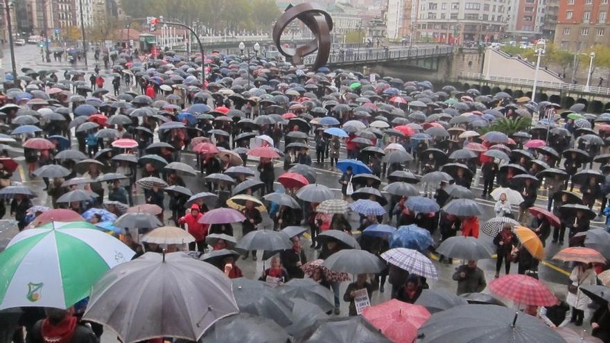 """Pensionistas vascos piden al próximo Gobierno central un calendario """"concreto"""" para abordar sus reivindicaciones"""