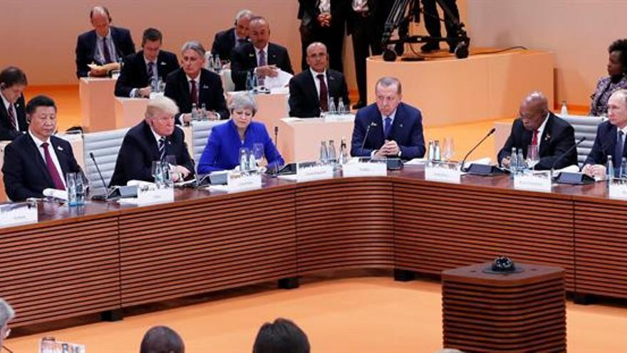 """México califica de """"productiva"""" la cita con Trump y asegura que no se habló del muro"""