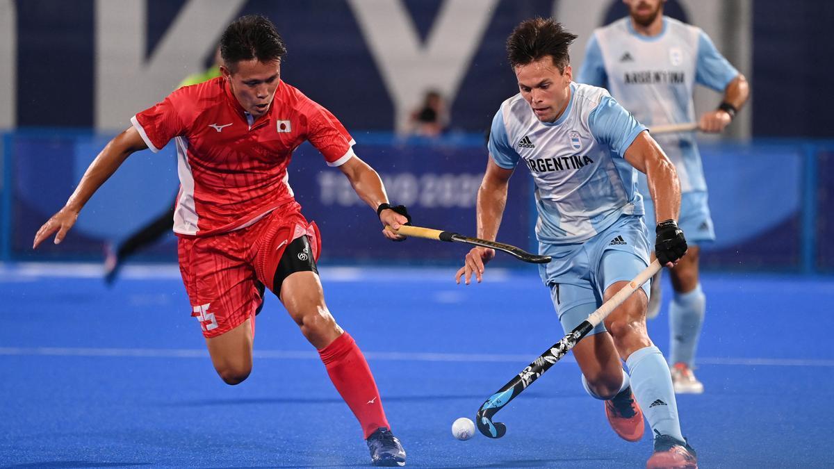 El seleccionado argentino masculino de hockey sobre césped derrotó al anfitrión Japón