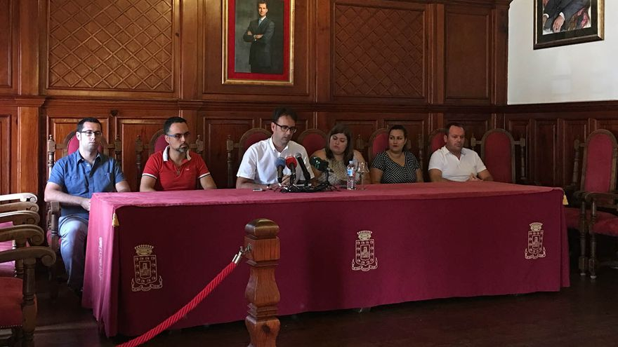 Adasat Reyes en el Ayuntamiento de San Sebastián de La Gomera