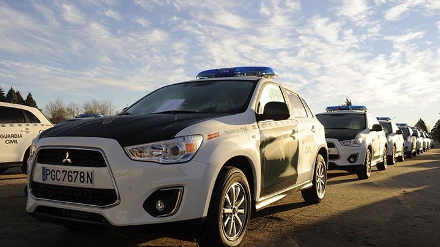 Guardia Civil incorpora cerca de 200 vehículos y material por 13 millones