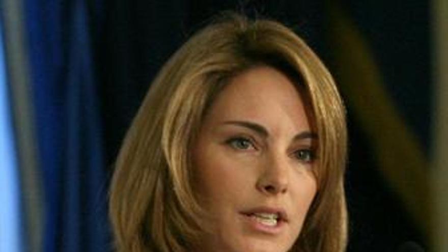 """La presidenta del Parlamento vasco dice que ETA """"está ahogada"""""""
