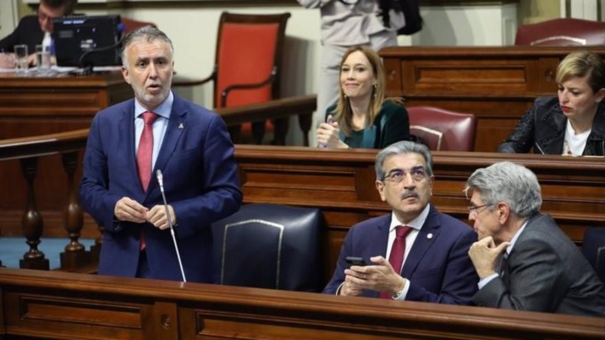 """El presidente de Canarias defiende tomar """"decisiones duras"""" contra la COVID-19 y avanza """"buenos datos"""" en las Islas este martes"""