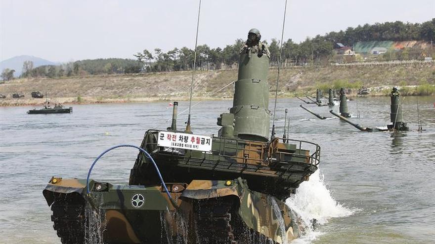 Corea del Sur y EEUU buscan reforzar su plan de defensa ante Corea del Norte