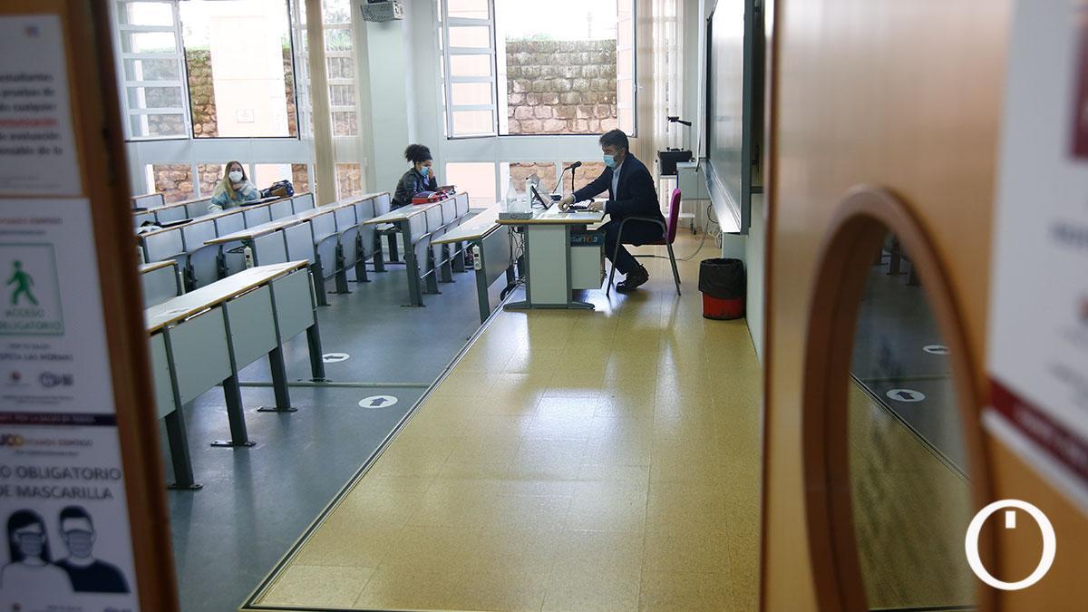 Vuelven las clases presenciales a la Universidad de Córdoba.