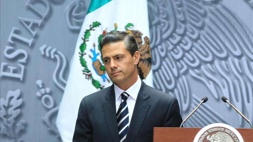 """Peña Nieto dice que """"no cejará"""" en esfuerzo para que impere Estado de derecho"""