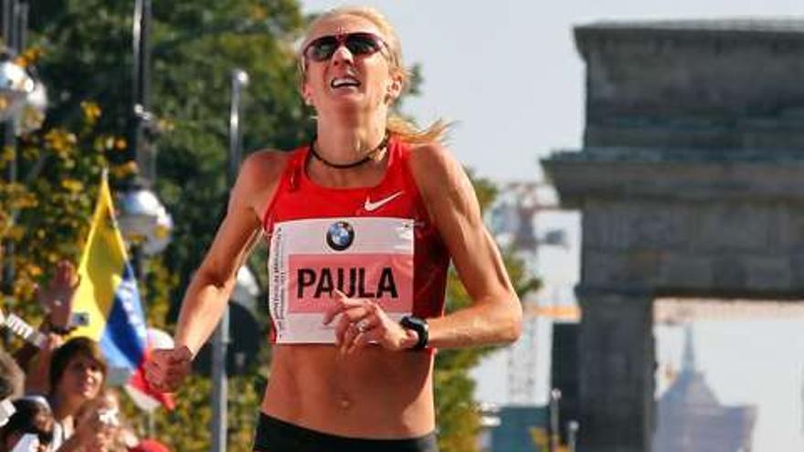 """Radcliffe está """"ilusionada"""" por amadrinar el DISA Gran Canaria Maratón."""