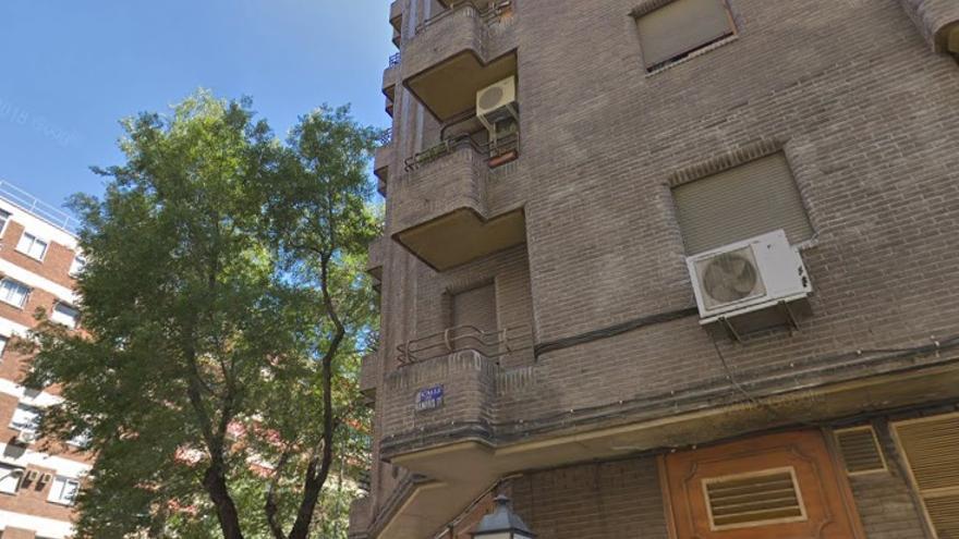 Número 1 de la calle Ramiro II, en Madrid. / Google Maps