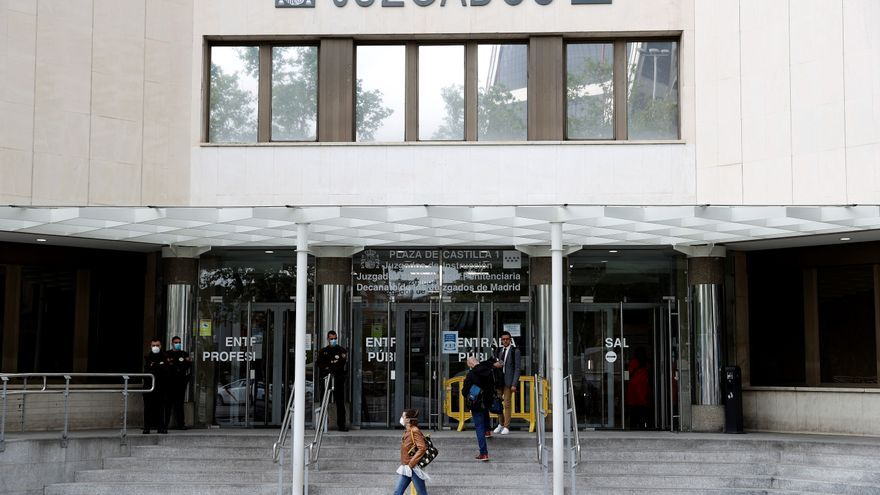 El arrestado por agredir a un sanitario en el metro de Madrid, ante el juez