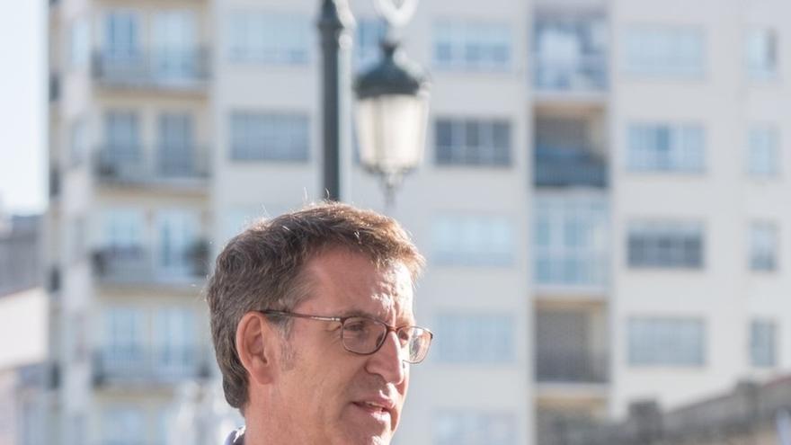 """Feijóo llama a unir el voto de centro-derecha en el PP y no """"fragmentarlo"""" con Ciudadanos y Vox"""