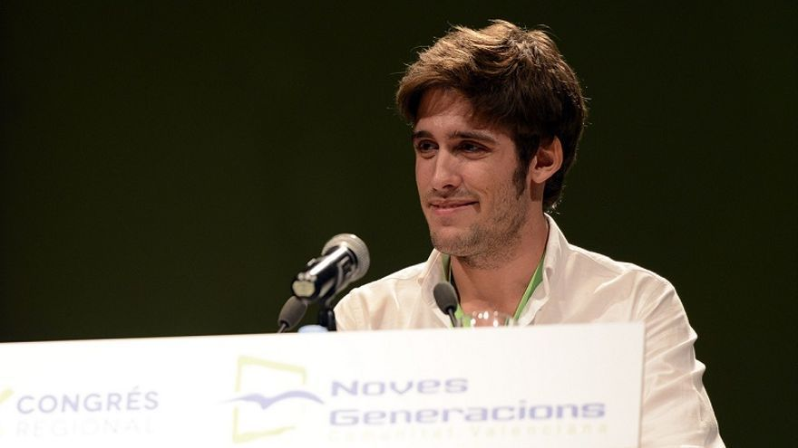 Juan Carlos Caballero, presidente de NNGG CV