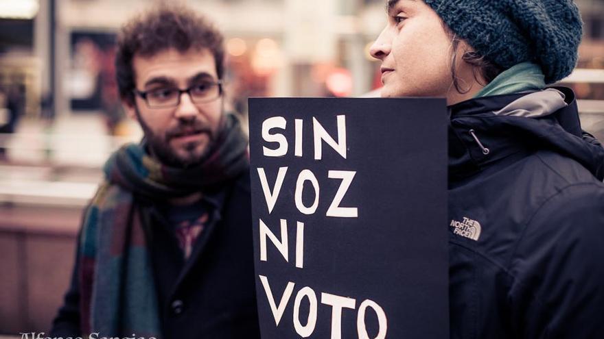 'Sin voz ni voto'