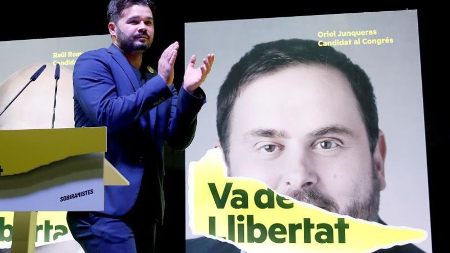 ERC pide diálogo al PSOE y que escuche el mensaje enviado por Cataluña