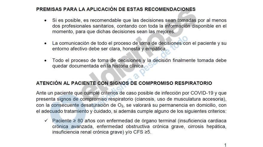 Recomendaciones para el manejo de pacientes mayores con COVID-19