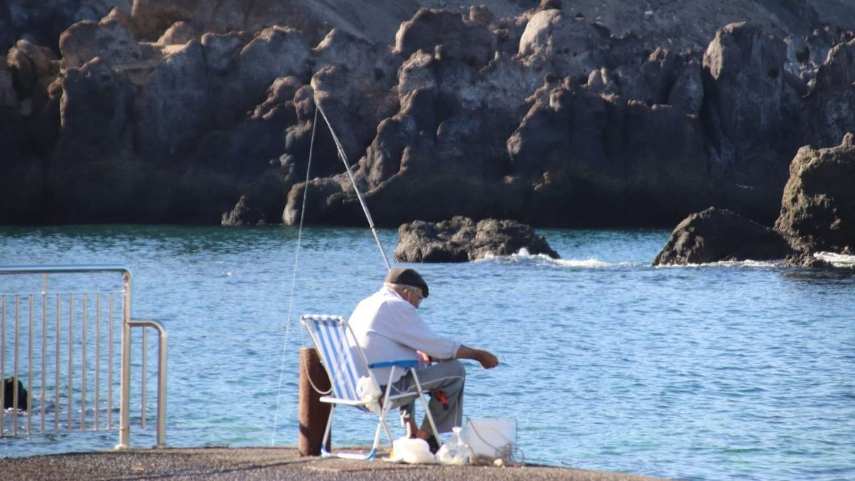 Pesca con caña.
