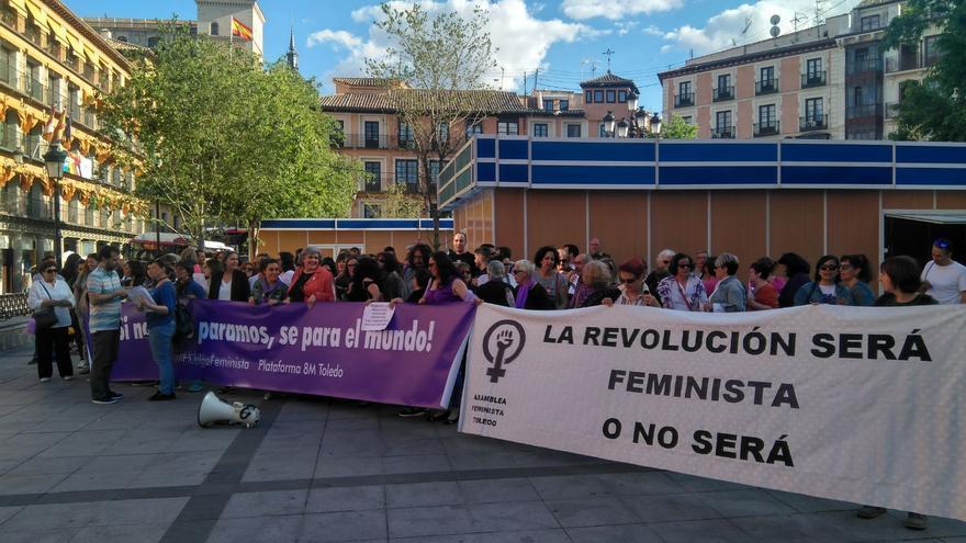 Manifestación en Toledo contra la violencia machista