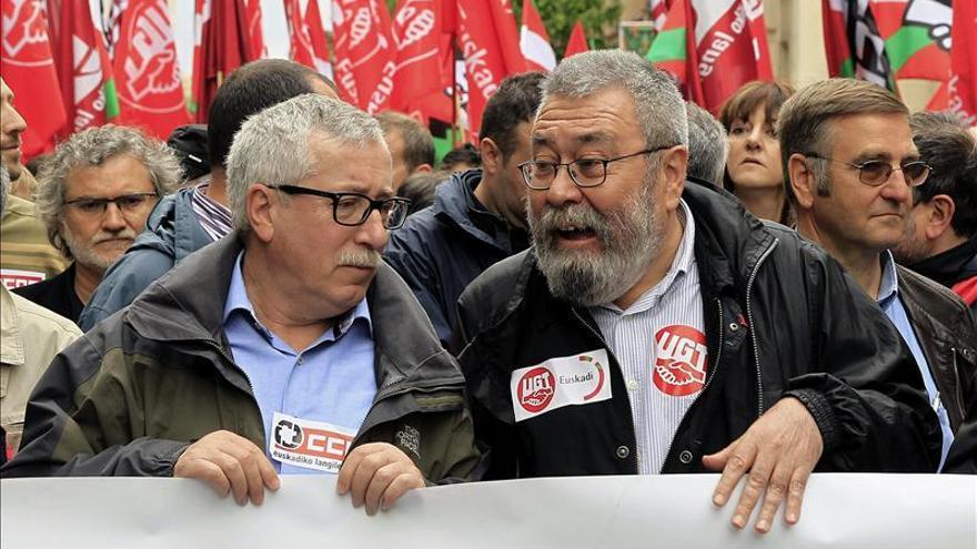 CCOO y UGT instan a Gallardón a revisar la norma sobre el derecho de huelga