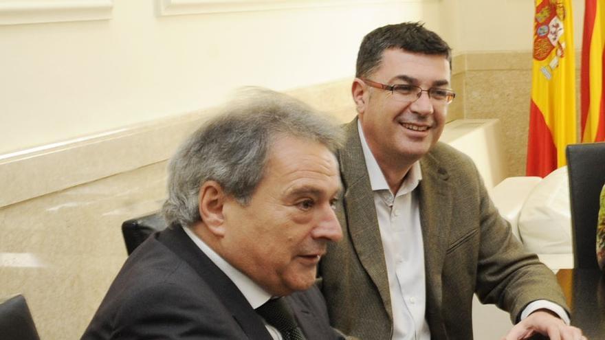 Alfonso Rus y Enric Morera en una imagen de archivo