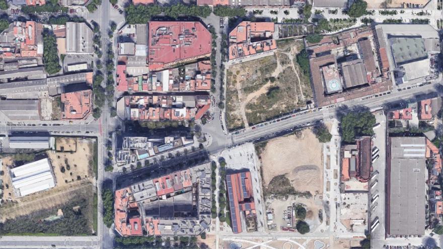El entorno de la calle Pere IV en Barcelona