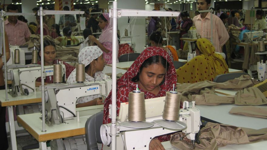 Taller textil en Bangladesh. Foto: Ayuda en Acción