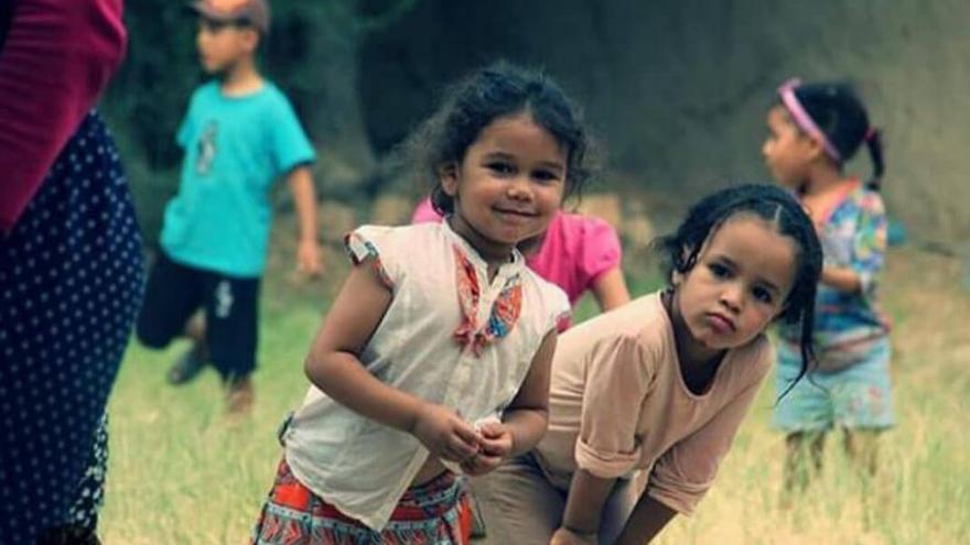 Niños atendidos por esta ONG.